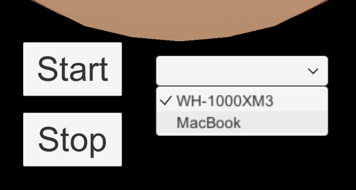【Unity】マイクデバイス一覧をDropdownに格納する