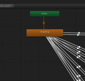 【Unity】Animatorで強制的に再生中のアニメーションを変える