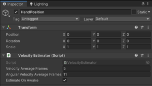 【Unity】オブジェクトの加速度を簡単に取得する