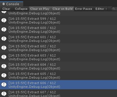 【Unity】zipを非同期にProgressBarを表示しながら解凍する