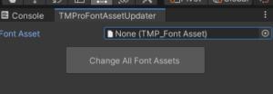 【Unityエディタ拡張】シーンに存在する全てのTMProのFontAssetを置き換える